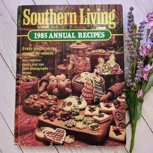 Southern Living 1985 Annual Recipes Cookbook VTG